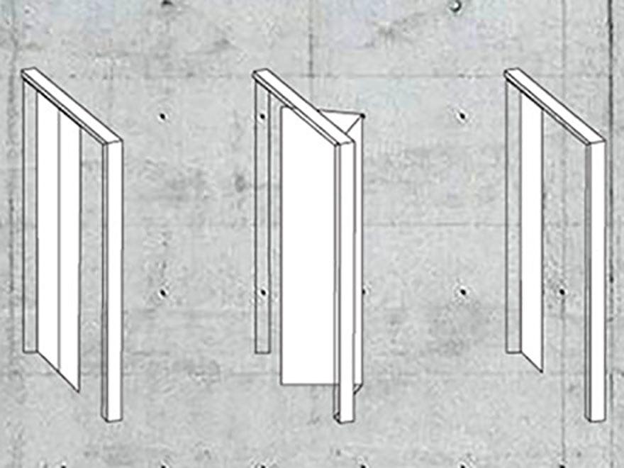 Porte Scorrevoli A Scomparsa Dimensioni.Come Scegliere L Apertura Delle Porte Carboni Porte